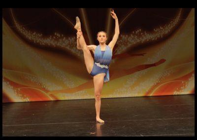 contemporary dance solo senior